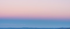 Earths Shadow and Belt of Venus from the Toowoomba Range, Queensland (andrew.walker28) Tags: pink blue sunset shadow red sky belt twilight arch venus earth anti