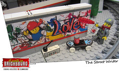 The Street Writer (EVWEB) Tags: street paint lego spray writer splatter hotspot acrilic minifigures