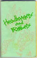 """Headbangers and Bombers"" a 2004 collaborative zine by Barry McGee / TWIST, Jacob Ciocci, Clare Rojas, and Andrew Jeffrey Wright (fotoflow / Oscar Arriola) Tags: street usa zine art 2004 illustration america magazine graffiti book us diy clare drawing jacob united cartoon mcgee twist andrew american artists barry jeffrey booklet states wright publication zines bombers rojas headbangers ciocci"