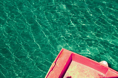 Complementary (AnnAutorino) Tags: summer macro beach me water canon landscape happy boat colours joy complementary saturation perfection chromatic