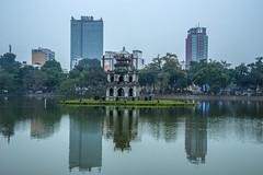 Across the Hoan Kiem Lake (tatlmt) Tags: asia vietnam hanoi turtleisland hoankiemlake