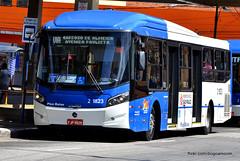2 1823 (American Bus Pics) Tags: sãopaulo millennium mercedesbenz brt sptrans sambaiba