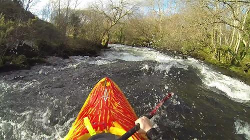Kayak - Afon Seiont - 2014-02-28