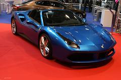 Ferrari 488 Spider (macadam67) Tags: auto show italien blue car wheel sport spider italian expo ferrari fête motorsport bleue roue mulhouse sportcar sportwagen ferrari488