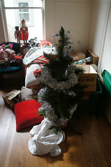 Christmas part of a move (kendradrischler) Tags: christmas berkeley moving nutcracker