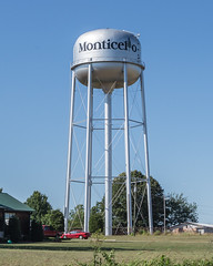 Monticello (jwcjr) Tags: watertower monticelloga monticellogeorgia jaspercountyga watertowermonticello