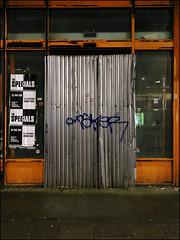 Taker (Alex Ellison) Tags: urban night graffiti boobs tag take graff dds sfl northwestlondon taker