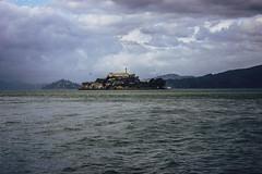 Alcatraz (weececi) Tags: ocean sanfrancisco voyage california trip travel sky usa tourism clouds canon landscape island escape adventure prison alcatraz westcoast traveler t3i keepexploring canon600d rebelt3i roadtriptourist