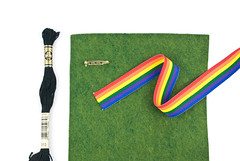 End of the Rainbow Felt Charm (wildolive) Tags: rainbow craft felt charm kawaii stpatricksday potofgold wildolive
