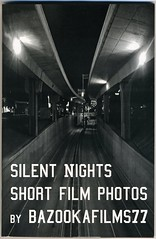 """Silent Nights Short Film Photos"", 2015 by Bazookafilms77 (fotoflow / Oscar Arriola) Tags: california usa zine film america magazine graffiti oakland book us photographer silent photos united documentary american short nights booklet states zines 2015 bazookafilms77"