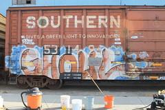 GHOULS (BGIZ) Tags: art graffiti trains ghoul gtb a2m