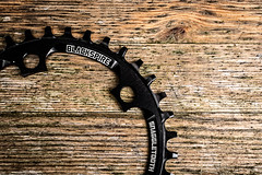 Snaggletooth (Mabvith) Tags: bike cycling teeth cycle snaggletooth chainwheel chainring 1x singlering blackspire