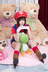 P75_008 (ms09Dom) Tags: cosplay コスプレ マリオ 五木あきら itsukiakira studioazure