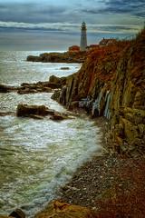Portland Head Light (ROPhoto77) Tags: ocean winter sea lighthouse seascape ice water rocks frost waves rocky coastal portlandheadlight