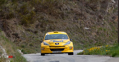 Peugeot 207 S2000 - Deplanche (tomasm06) Tags: auto sport race rally course rallye peugeot207s2000 paysdegrasse