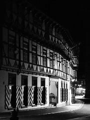 Musikinstrumenten-Museum (1elf12) Tags: fachwerk truss halftimbered maisonàcolombages goslar unesco deutschland germany black white bw nacht night cmwdblackwhite cof038 cof038dmnq cof038mchi