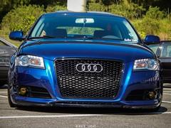 Audi - 2 Low Parking (natiinho_) Tags: blue vw nikon parking low arena carros paulo audi rs so hdr encontro rs6 corinthians l820