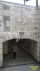 Entrance to HPC tube station (davidshort) Tags: london wellington dukeofwellington hydeparkcorner 2016 lba