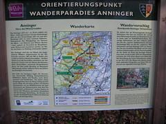 20111118N Anninger Wanderparadies Wienerwald Hinweistafel Schutzhaus Anninger (rerednaw_at) Tags: niedersterreich anninger wanderparadies wienerwald hinweistafel schutzhaus