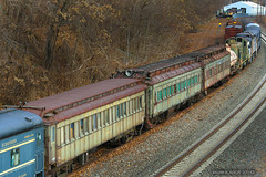 Boonton URHS equipment move. Rearranging  for future rolling stock. (bozartproductions) Tags: erie lackawanna boonton
