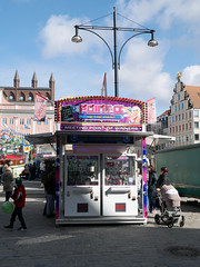 Der Treffpunkt. / 20.03.2016 (ben.kaden) Tags: rostock neuermarkt 2016 rummelplatz 20032016