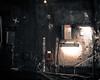 Post Modern (Kevin STRAGLIATI) Tags: city urban paris station train dark neon metro tunnel dirt dust electronic modernity apocalyps
