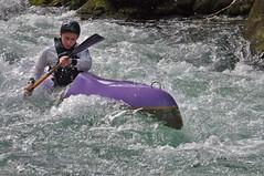 Cano-kayak sur le Salat (Arige) (PierreG_09) Tags: kayak rivire salat torrent pyrnes pirineos arige coursdeau cano couserans doublepagaie