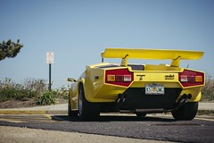 _MG_0009 (KenzoSmithPhotography) Tags: park new beach wheel yellow circle tire shore round jersey asbury rim hubcap lamborghini 1990 90s exhaust countach lambo