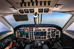 Kingair C90A - Cockpit (gc232) Tags: from plane airplane nose corporate fly flying view live aircraft aviation flight engine cockpit deck engines airline beechcraft instruments propeller turbine pilot beech flightdeck pilots turboprop yoke kingair c90 pt6 avgeek throttles c90a beech90 be90 golfcharlie232