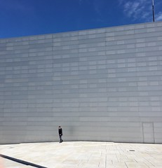 A Day at the opera #oneman #dennorskeopera #operahouse #oslo #norway #culture #likesforlikes (holterflemming) Tags: oslo norway de no culture operahouse likes oneman dennorskeopera likesforlikes