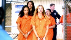 h50503_01747 (UJB88) Tags: county orange women uniform prison jail facility jumpsuit correctional restrained