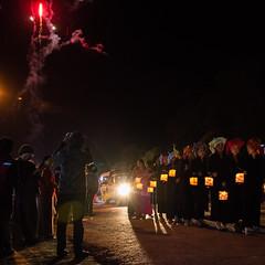 [Myanmar,Kalaw] Tazaungdine (Paul Bergot) Tags: festival night fireworks bynight myanmar kalaw tazaungdine