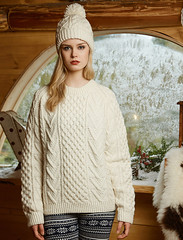 Womens fashion aran wool sweater (Mytwist) Tags: new irish woman white sexy heritage classic wool girl fashion lady female fetish vintage cozy sweater fisherman stitch fuzzy ivory handknit craft style yarn cables honey blonde passion jumper knitted expensive heavy honeycomb aran oat pullover authentic bulky laine crewneck vouge handknitted sweatergirl knitwear cabled stricken woolfetish aransweater handgestrickt mytwist ecury aranjumper aranstyle