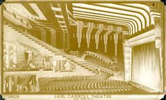 Earl Carroll Theatre (jericl cat) Tags: nyc newyork illustration design theater theatre interior artdeco earl carroll streamlined auditorium streamline