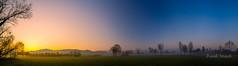 Misty Sunrise over Black Forest (strack_frank) Tags: sky panorama mountains sunrise landscape feld himmel samsung berge fields landschaft bume sonnenaufgang schwarzwald blackforest gegenlicht morgenlicht sonnenstern nx30