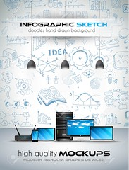 Modern Devices mockup with Concept background with graphs sketches (Gluepin) Tags: people chart money lamp set pencil pie idea design marketing sketch chalk team icons hand phone graphic background laptop web plan graph social icon monitor business growth doodle management smartphone elements diagram brainstorming modem router arrow doodles tablet information success vector strategy server infographic infographics seo devices teamwork mockups infochart