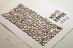 The Fall of the House of Usher (Ivan Jernimo) Tags: allan edgar calligraphy rotunda poe blackletter caligrafia gtica calligraphie  kalligraphie