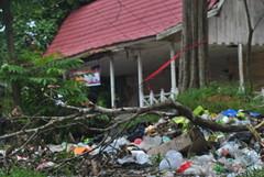 Tumpukan sampah (Hafid Wanala) Tags: sampah candimuarojambi