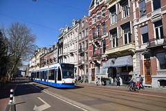 GVB 2018 Weteringschans Amsterdam (eddespan (Edwin)) Tags: amsterdam nederland siemens tram streetcar strassenbahn noordholland gvb combino