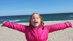 Hooray for the beach (TheFairView) Tags: ocean beach tabby oceangrove