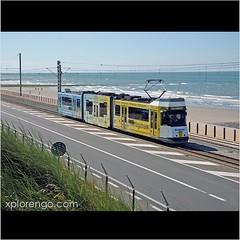 Ostend (xplorengo) Tags: sea beach coast belgium belgique belgie belgië tram zee northsea publictransport oostende tramway ostend flanders flandres kust vlaanderen flandre kusttram