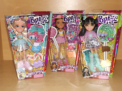 New dolls - Bratz Sweet Style Cloe, Yasmin and Jade (meike__1995) Tags: new dolls sweet style jade yasmin mga bratz cloe 2016