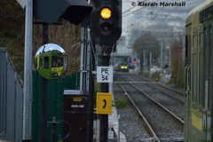 8118 at Sandymount, 12/4/16 (hurricanemk1c) Tags: irish train siemens rail railway trains railways dart irishrail sandymount lhb 2016 iarnród 8118 éireann iarnródéireann class8100 1525brayhowth