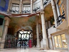DSCN6297 (Beth M527) Tags: barcelona spain unesco artnouveau casamil lapedrera 2016 antonigaud worldheritagesites