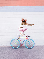 Zara and her Prologue Bicycle Jumping (..::~ZARA STILLS + MOTION-OTTAWA VELO VOGUE~::..) Tags: canada fashion bike bicycle bicycling cycling rainbow pastel ottawa bikes style riding pastels ciclismo bici unicorn bicyclette  velo fiets cykel  on prologue bikefashion streetstyle bisiklet kerkpr blackmilk bikestyle  cyclechic vsco velovogue blackmilkclothing bicichic blackmilkleggings xovelo fashioncanadians