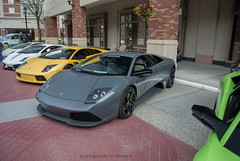 Grigio Telesto LP640 (nurspecs) Tags: exotics rtc exoticsrtc cars auto supercar exotic automotive photography wa washington redmond town center lambo lamborghini murcielago lp640 grigio telesto grey gray