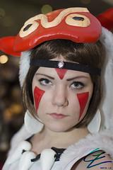 Mononoke Hime (gxle) Tags: portrait canon eos rebel helsinki kiss princess cosplay hime t3i x5 mononoke 2016 600d rebelt3i kissx5 yukicon 2k16 yukicon2016