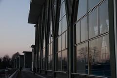 Birsfelden (Elo_M.) Tags: sunset architecture basel barrage birsfelden stauwerk