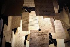 reading lamp (overthemoon) Tags: museum handwriting schweiz switzerland suisse pages explore study svizzera bulldogclip vevey dcor charliechaplin vaud 146 typewriting romandie corsier chaplinsworld utata:project=literally manoirduban