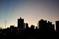 Sunrise at Campina Grande (Eduardo P. Filho) Tags: road travel brazil luz sol rain brasil sunrise 35mm drive grande pessoa nikon br chuva estrada carro f18 230 joao paraiba viajar nordeste nascer campina dirigir br230 d5000